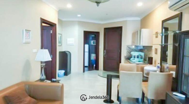 livingroom Apartemen Belleza Apartment