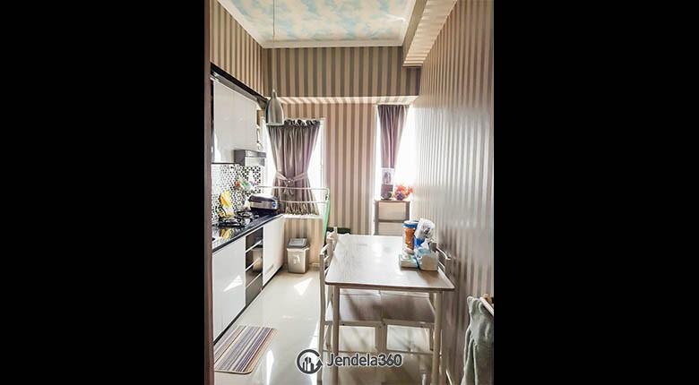livingroom Apartemen Tamansari Mahogany Apartment