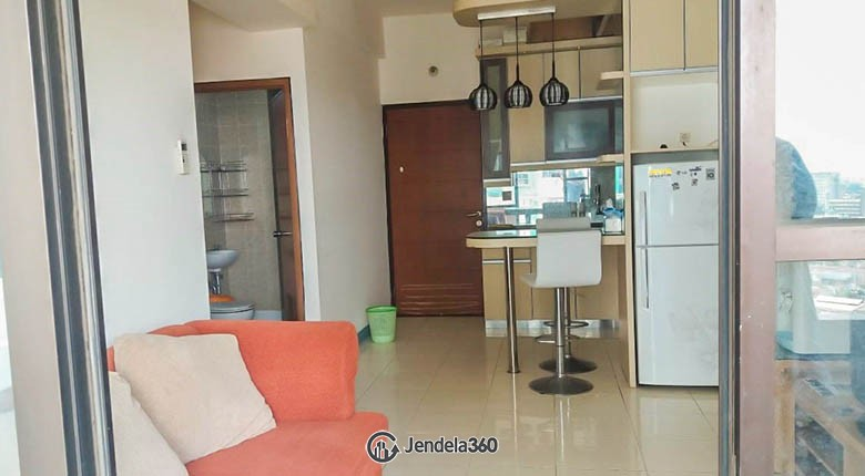 livingroom Apartemen Salemba Residence