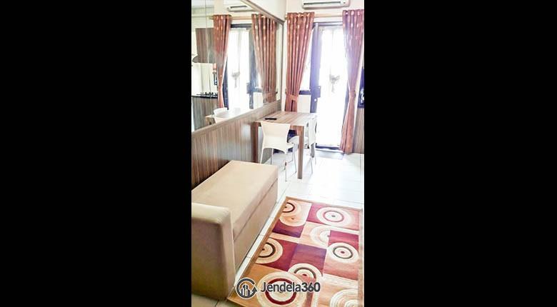 livingroom Apartemen Kebagusan City Apartment