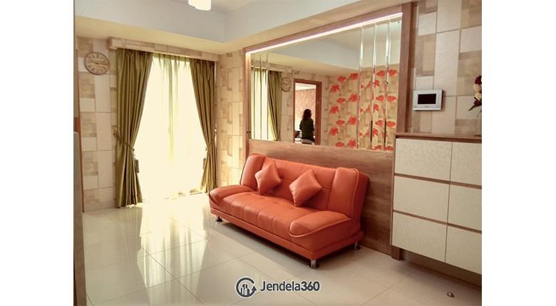 Ruang tamu Apartemen The Mansion Kemayoran Jasmine