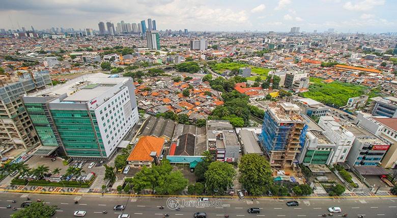 sewa apartemen the boulevard