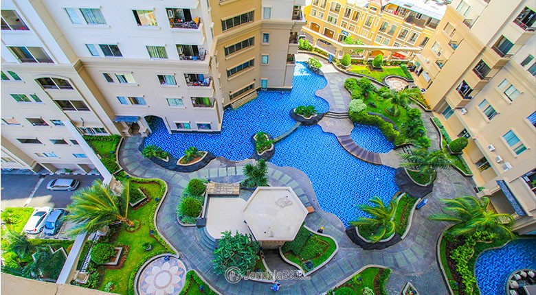 mediterania marina ancol apartment for rent