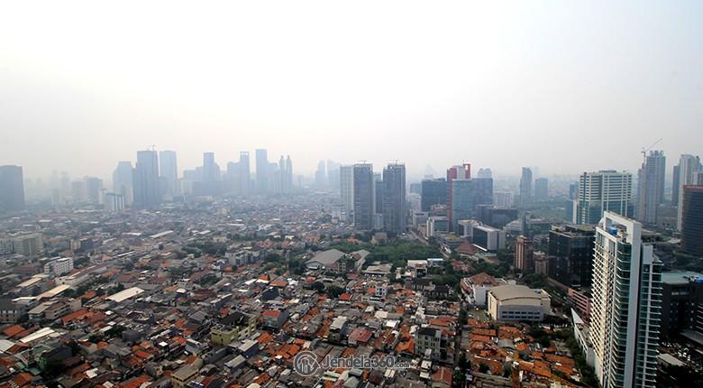View Apartemen Kuningan City - Denpasar Residence