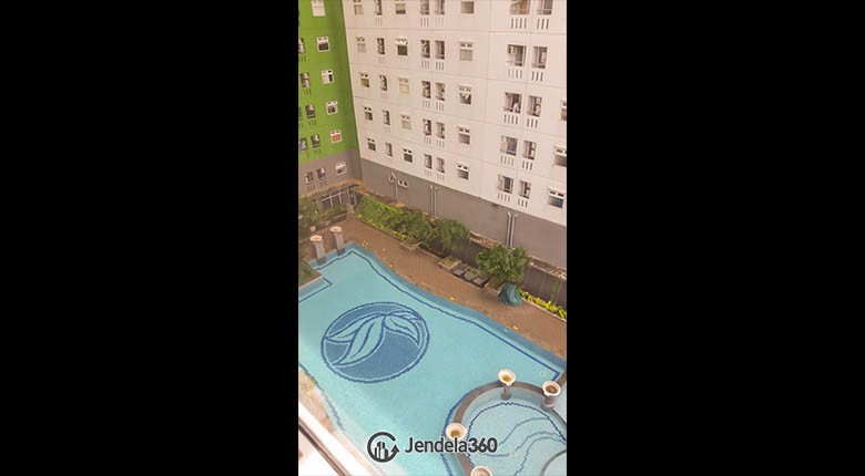 view Green Pramuka City Apartment