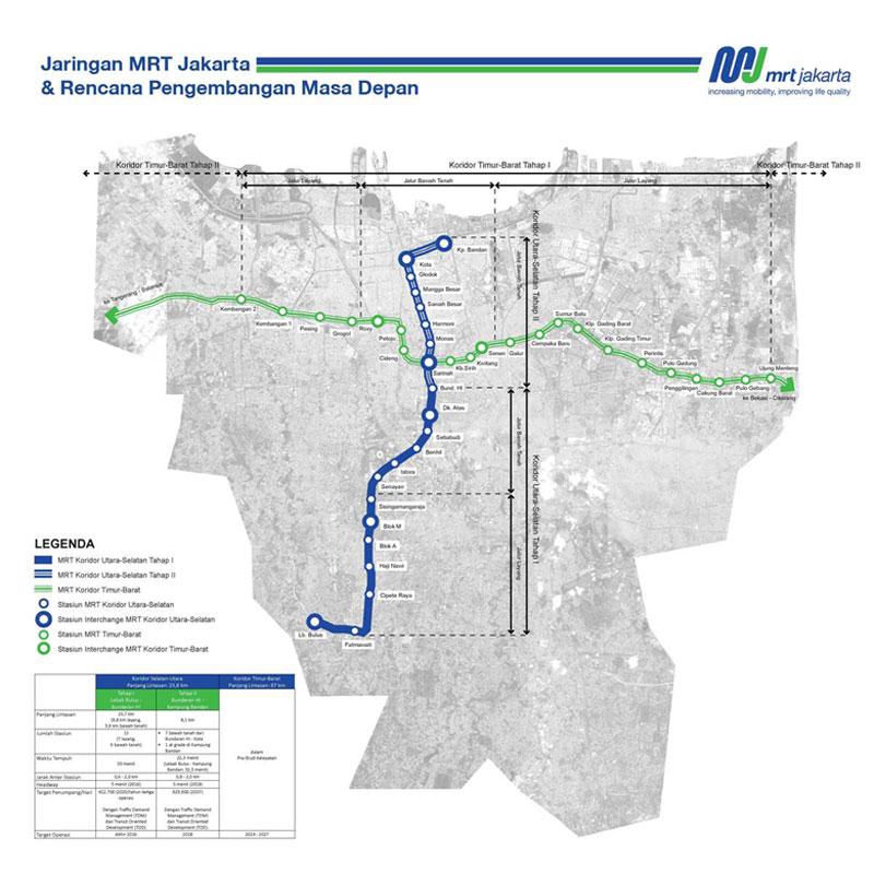 42 Apartemen Dekat Stasiun Mrt Jakarta Jendela360 Com