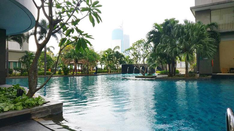 Kolam Renang Thamrin Residence