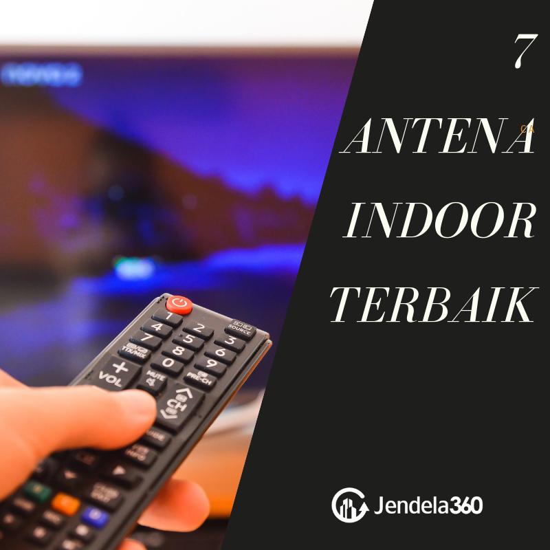 7 Antena TV Indoor Terbaik, No. 4 Paling Cocok Buat Di Apartemen