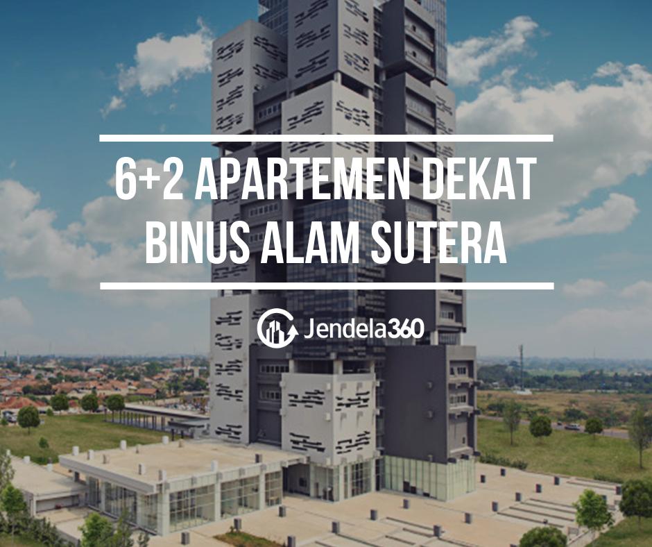 6+2 Apartemen Dekat Universitas Binus Alam Sutera