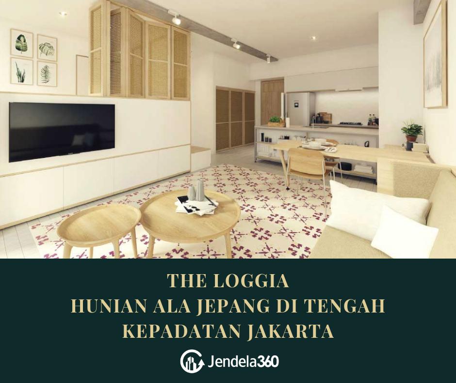 The Loggia, Hunian Ala Jepang di Tengah Keramaian Jakarta