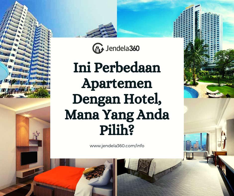 Perbedaan Apartemen Dengan Hotel, Mana Yang Anda Pilih?