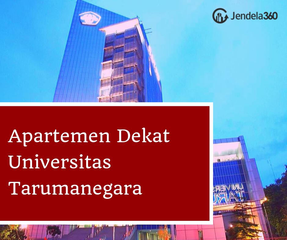 7 Apartemen Dekat UNTAR, Cocok untuk Mahasiswa