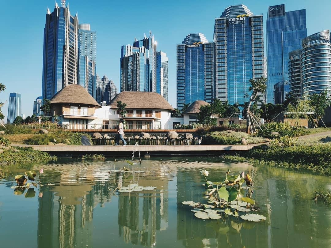 spot foto di Jakarta