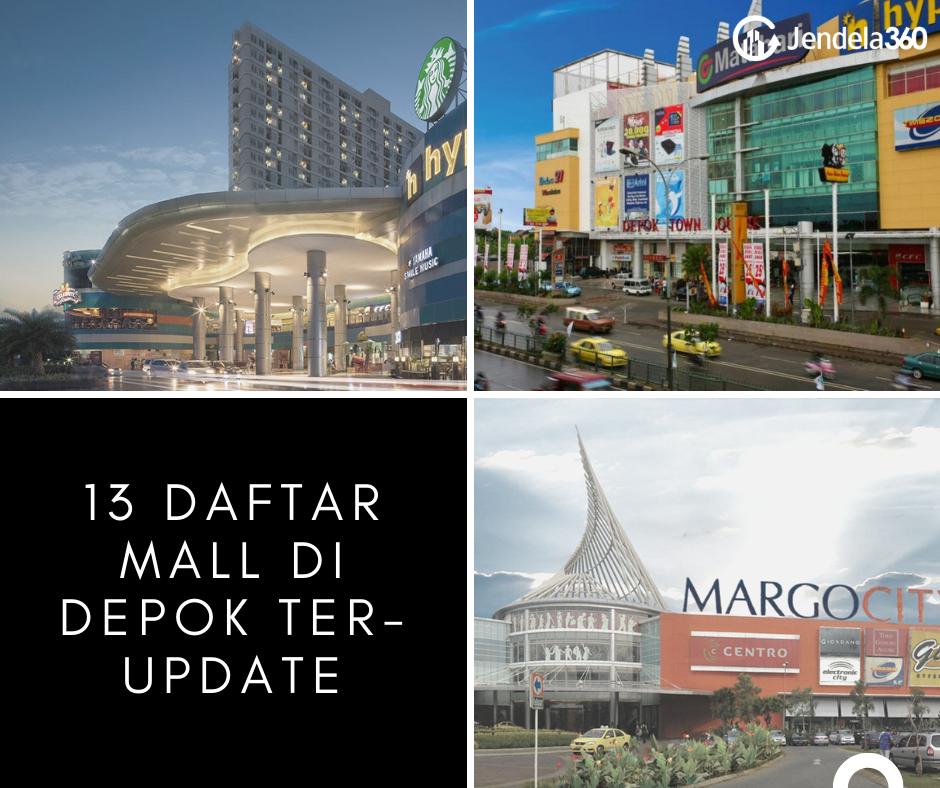 13 Daftar Mall di Depok Ter-update yang Cocok Jadi Destinasi Liburan