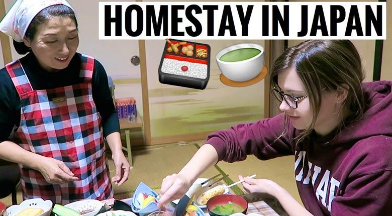 homestay in japan