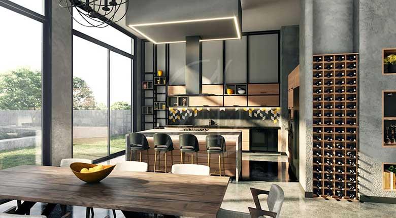 6 Ide Dan Inspirasi Industrial Design Interior Di Rumah Jendela360