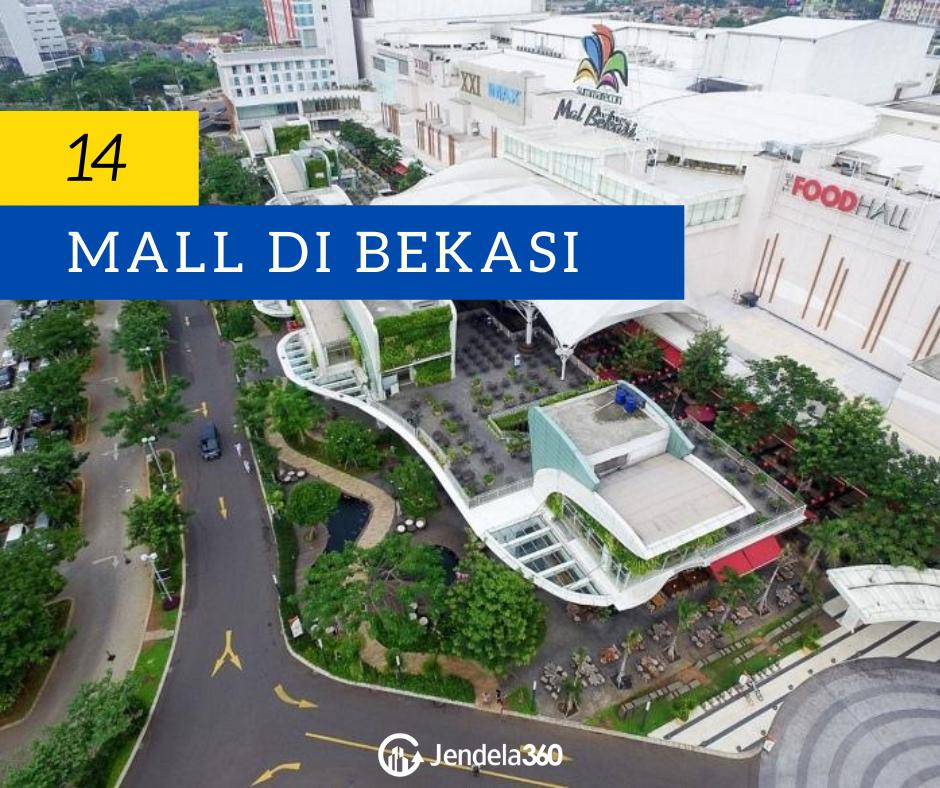 15 Daftar Mall di Bekasi Ter-update Tahun 2020 untuk Semua Kalangan