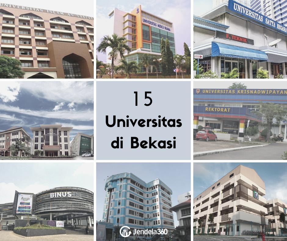 15 Universitas di Bekasi yang Diminati untuk Studi Lanjut