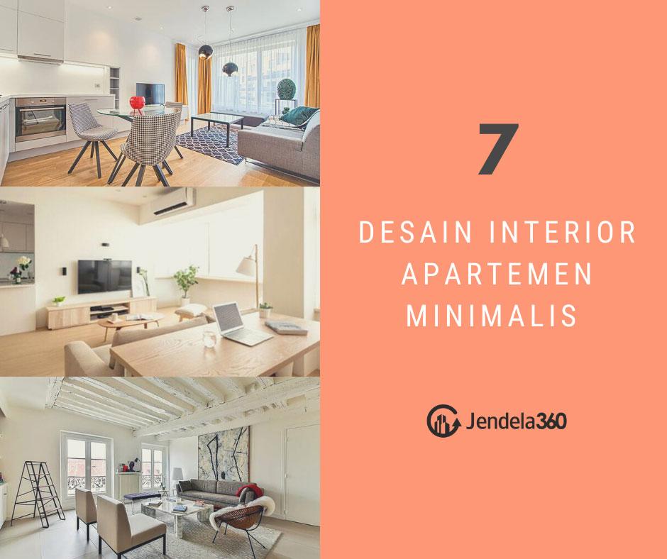 7 Desain Interior Apartemen Minimalis Nyaman Ditempati