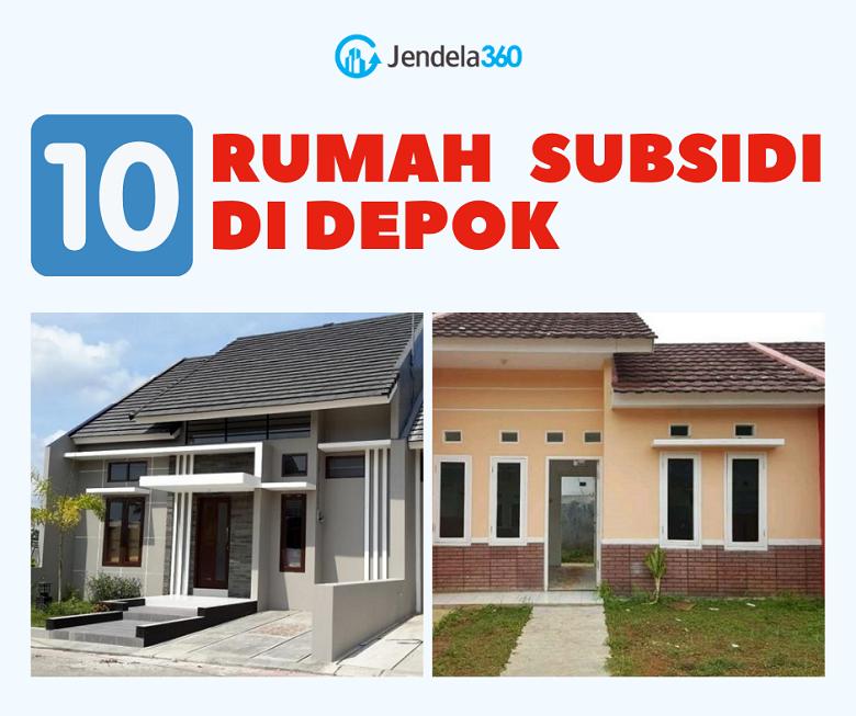 10 Rumah Subsidi Depok Murah Harga Rp 100 Jutaan