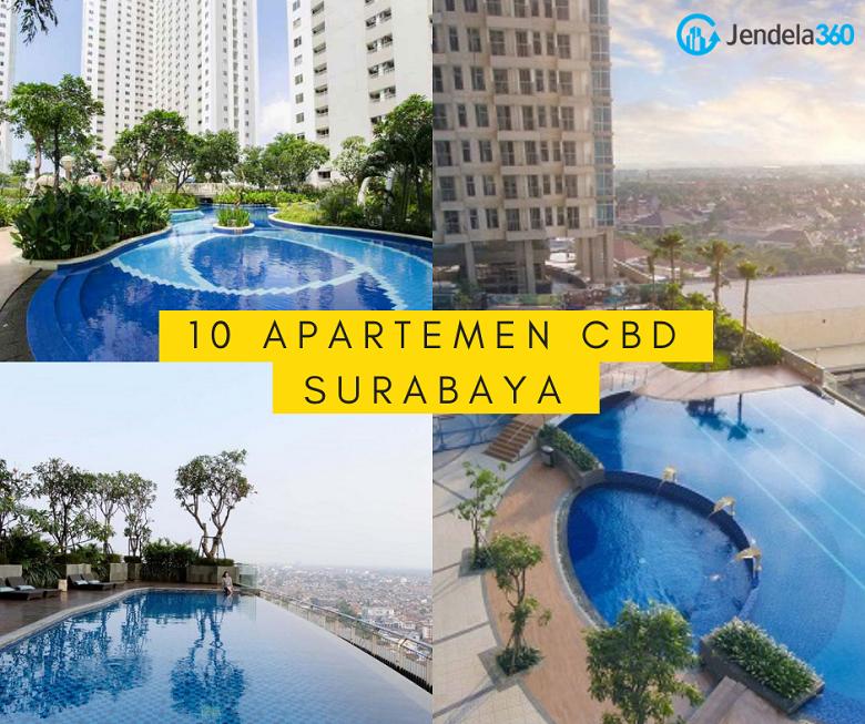 10 Apartemen di CBD Surabaya Murah dengan Beragam Pilihan