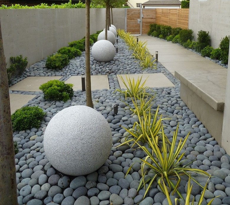 taman di rumah minimalis