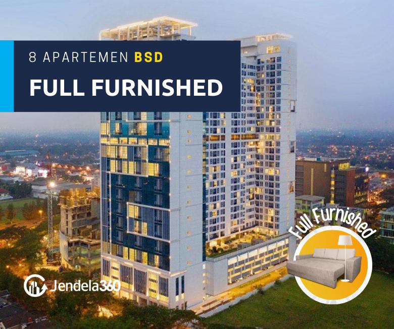 8 Apartemen BSD Full Furnished, dari yang Murah Sampai Premium