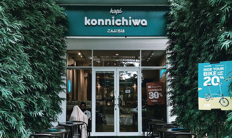 cafe instagrammable di bekasi