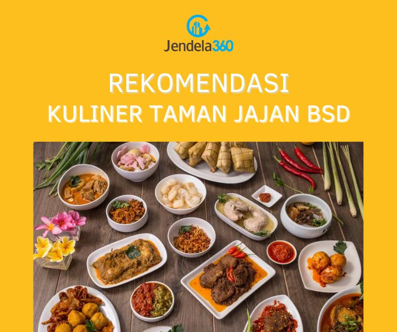 7 Rekomendasi Kuliner Taman Jajan BSD